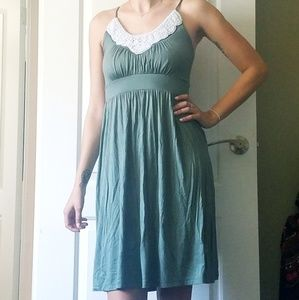 Sundress with Pearl Embellishments
